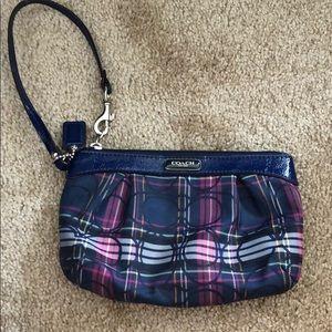 Coach small pouch purse